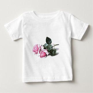 Vintage Pink Roses Baby T-Shirt