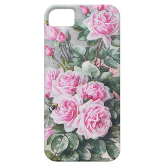 Vintage Pink Roses Bouquet iPhone 5 Cover