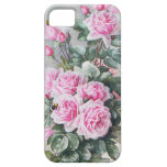 Vintage Pink Roses Bouquet iPhone 5 Cases