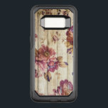 "Vintage Pink Roses on Wood Samsung Galaxy S8 Case<br><div class=""desc"">Vintage elegant flowering roses in shades of pink on a wooden fence background. A lovely stylish and romantic shabby chic design.</div>"