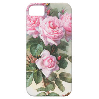 Vintage Pink Roses Painting iPhone 5 Case