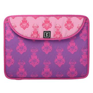Vintage pink/salmon color background MacBook pro sleeve