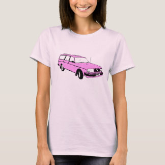 Vintage Pink Station Wagon T-Shirt