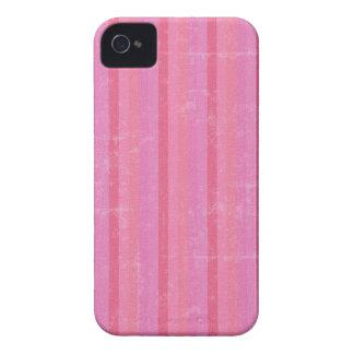 Vintage Pink Stripes iPhone 4 Case-Mate Case