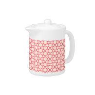 Vintage Pink Teapot