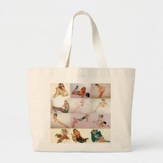 Vintage Pinup Collage - 12 Gorgeous Girls In 1 Bag