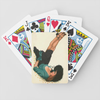 Vintage Pinup Girl Original Coloring 15 Bicycle Playing Cards