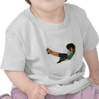 Vintage Pinup Girl Original Coloring 15 Tshirt