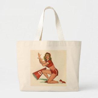 Vintage Pinup Girl Original Coloring 17 Bag