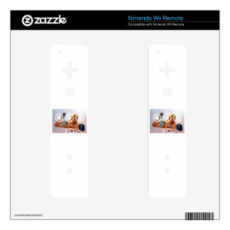 Vintage Pinup Girl Original Coloring 2 Decals For The Wii Remote