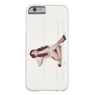Vintage Pinup girl - Red Passion Barely There iPhone 6 Case