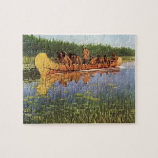 Vintage Pioneers, Great Explorers by Remington Jigsaw Puzzle