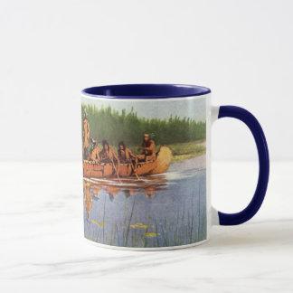 Vintage Pioneers, Great Explorers by Remington Mug