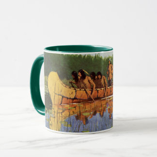 Vintage Pioneers, Great Explorers by Remington Mug
