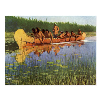 Vintage Pioneers, Great Explorers by Remington Postcard