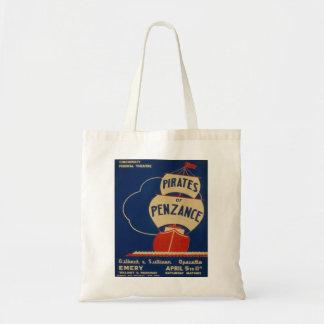 """Vintage """"piratas del bolso del poster de Penzance"""""""