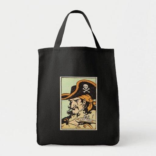 Vintage Pirate Canvas Bag