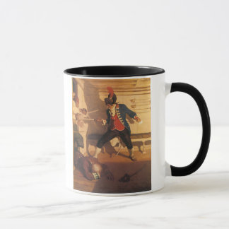 Vintage Pirate Captain, Sword Fight by NC Wyeth Mug