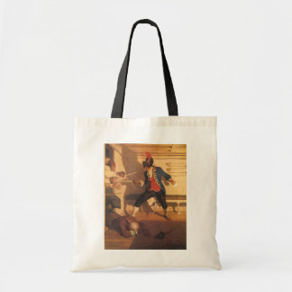 Vintage Pirate Captain, Sword Fight by NC Wyeth Tote Bag