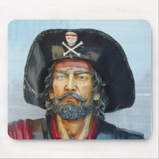 Vintage pirate image mouse pad