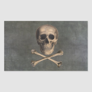 Vintage Pirate Jolly Roger Stickers