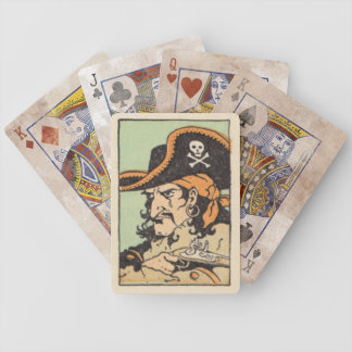 vintage pirate playing cards