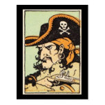 Vintage Pirate Postcard