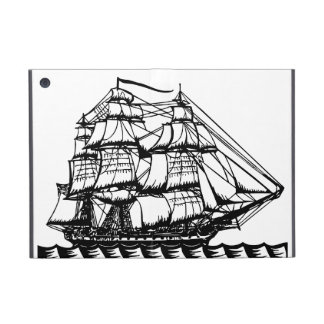 Vintage Pirate Ship Nautical Dreams ipad case