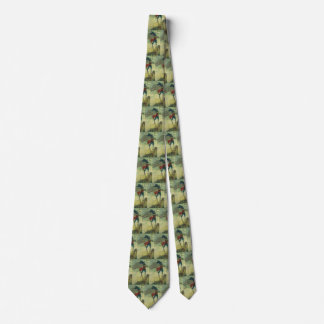 Vintage Pirate, The Flying Dutchman by Howard Pyle Neck Tie