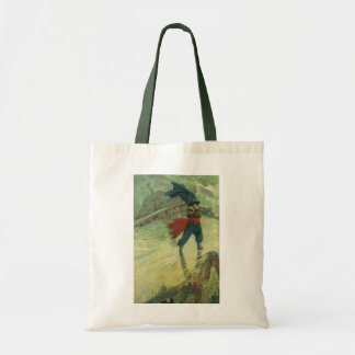 Vintage Pirate, The Flying Dutchman by Howard Pyle Tote Bag