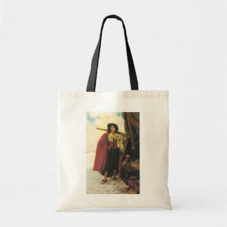 Vintage Pirates Buccaneer was a Picturesque Fellow Tote Bag
