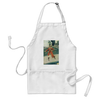 Vintage Pirates, Captain Keitt by Howard Pyle Adult Apron