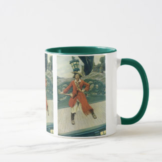 Vintage Pirates, Captain Keitt by Howard Pyle Mug