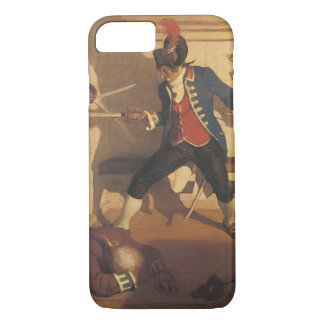 Vintage Pirates, Captain Sword Fight by NC Wyeth iPhone 8/7 Case