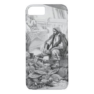 Vintage Pirates Counting their Treasures and Loot iPhone 7 Case