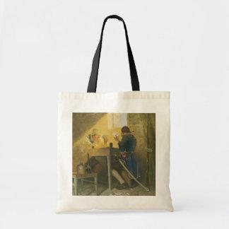 Vintage Pirates Gambling in a Prison NC Wyeth Bag