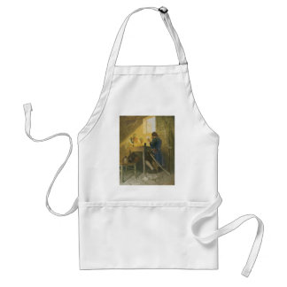 Vintage Pirates Gambling in Prison by NC Wyeth Adult Apron