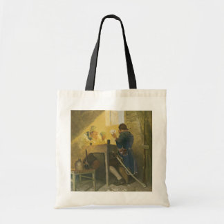 Vintage Pirates Gambling in Prison by NC Wyeth Tote Bag