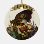 Vintage Pirates of Life 1921 Christmas Ornament