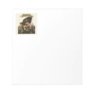 Vintage Pirates of Life 1921 Notepad