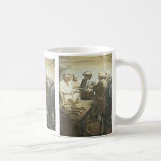 Vintage Pirates, Preparing for Mutiny by NC Wyeth Coffee Mug