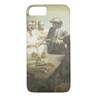 Vintage Pirates, Preparing for Mutiny by NC Wyeth iPhone 8/7 Case