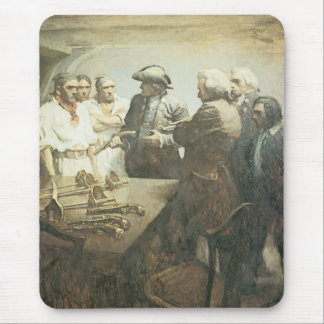Vintage Pirates, Preparing for Mutiny by NC Wyeth Mouse Pad