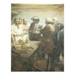 Vintage Pirates Preparing for the Mutiny, NC Wyeth Personalized Invitations