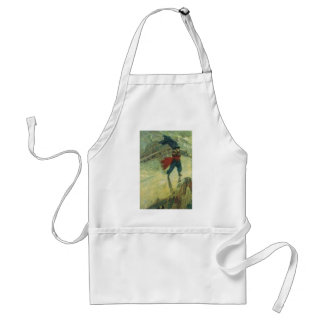 Vintage Pirates; The Flying Dutchman, Howard Pyle Aprons