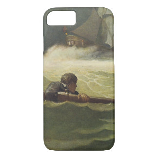 Vintage Pirates, Wreck of the Covenant by NC Wyeth iPhone 7 Case