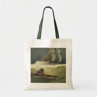 Vintage Pirates, Wreck of the Covenant by NC Wyeth Tote Bag