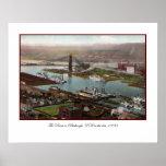 Vintage Pittsburgh 1800s Print
