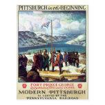 Vintage Pittsburgh en el principio Postal