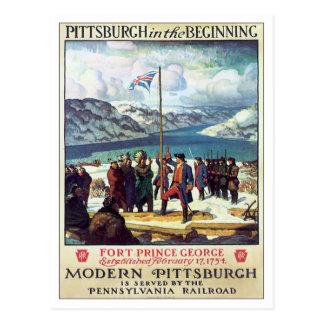 Vintage Pittsburgh en el principio Postales